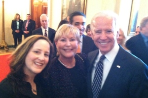 Me, my mom, and Vice President  Biden!!