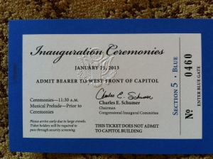 Entry for Inauguration!
