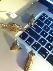 Totems at the keys!