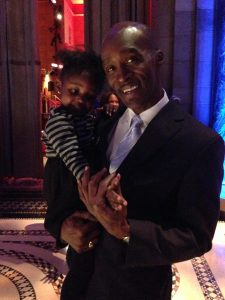 Terrance and his granddaughter, Gracie!