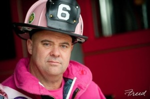The Pink Fireman! Photo by Freed Photography