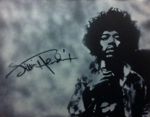 """Jimi Hendrix"" (I'm a huge Jimi fan!)"
