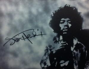 """""""Jimi Hendrix"""" (I'm a huge Jimi fan!)"""