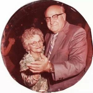 Grandma and Grandpa B, together again.