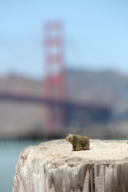 Bronze Bear, Golden Gate