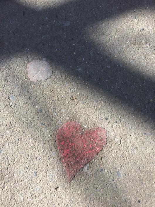 Sidewalk Valentine!