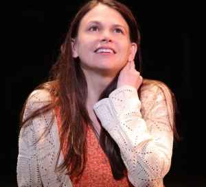 "Sutton Foster as ""Violet"" Photo courtesy broadwaybox.com"
