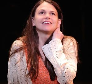"Sutton Foster as ""Violet"" Photo courtesy broadwaybox.com"