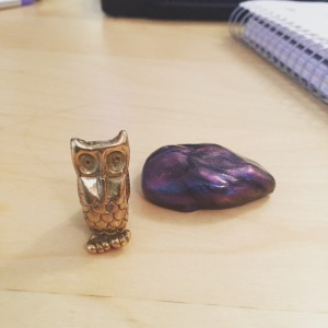 Owl and putty working together!