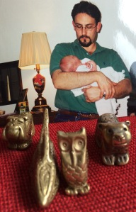 A Daddy and his first born, and some Totems!