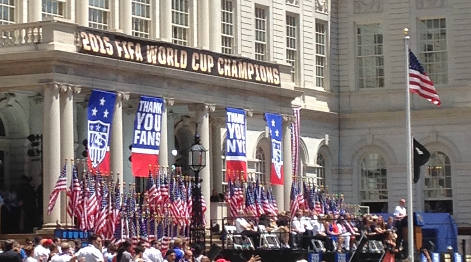 Cheers To Governor Brewer >> Totem Tamers congratulates the 2015 FIFA World Cup Champs: the U.S. Women's Soccer Team ...